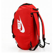 Waterproof Travel Carry Totes Backpack T90 Sport Train Swim Duffle Gym Bags Red