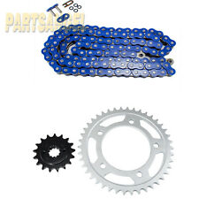 Blue O-Ring Chain Sprocket Kit 2001-2007 2004 2005 Honda VT750 DC Shadow Spirit