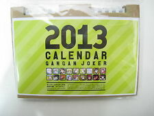 GanGan Joker Promo Furoku 2013 Special Calendar Japan Book Girl Rose Guns