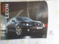 Seat Leon range brochure Nov 2007