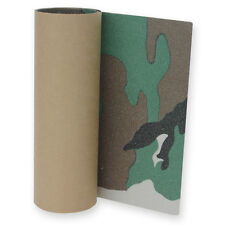 Longboard Grip tape Sheet 10 inx48 in ARMY CAMO Skateboard Griptape