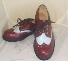 John Fluevog UK 7/Men's 8/Women's 9 Seventh Heaven Leather Fashion Oxfords Shoe