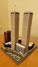 Lego New York WORLD TRADE CENTER custom instructions Twin Towers Plaza
