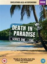 Death in Paradise Season 1 2 3 4 5 Series One Two Three Four Five New DVD