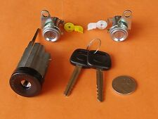 IGNITION BARREL & 2 DOOR LOCKS SUIT TOYOTA COROLLA inc SECA & SPRINTER AE100 Ser