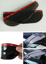 2pcs Car Universal Rear View Side Mirror Rain Snow Guard Sun Visor For Volvo