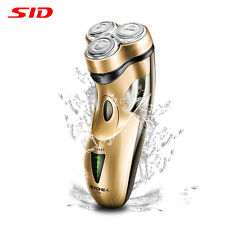 SID SA7253 3D Rechargeable Body Washable Men's Cordless Electric Shaver Razor