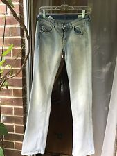 Women's Diesel Doozy Blue Jeans Size 26 x 32 Stretch Straight Leg