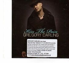 (FT206) Gregory Darling, Kiss The Pain - 2009 DJ CD