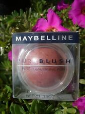 MAYBELLINE PURE BLUSH,NATURAL COLOR WITH UNBELIEVABLE SOFTNESS, PURE PLUM