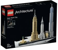 New York City LEGO HOUSE Architecture Lego World Trade Builder Xmas Gift Box Set
