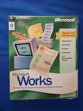 MICROSOFT Works VER. 4.5 Windows 95 o successiva su CD in confezione ORIGINALE SIGILLATO