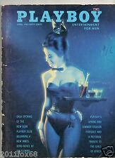 playboy no. 4 1963 playboy's 1963 play boy 1963 rare ny playboy club ian fleming