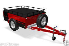 Trailer Plans - OFF-ROAD CAMPER TRAILER PLANS - 3 Sizes 7x4ft, 6x4ft & 7x5ft