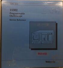 Tektronix 11302 Programmable Oscilloscope Service Reference P/N 070-6781-00