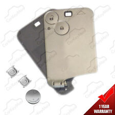 Replacement case shell cover for renault laguna espace 2 button key card keycard