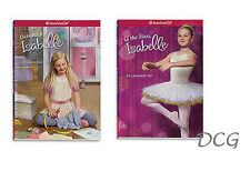 American Girl BOOK LE ISABELLE DUO #2 & #3 TO THE STARS & DESIGNS NEW