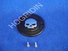 g Harley points timer cover skull sportster xl iron 883 1200 custom willie
