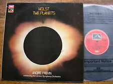 ASD 3002 HOLST: THE PLANETS   ANDRE PREVIN / LONDON SYMPHONY ORCHESTRA   TAS  NM