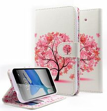 For Motorola Moto G4 / G4 Plus Hybrid PU Leather Wallet Pouch Case Flip Cover