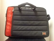 "Swiss Army Swissgear Laptop Computer Carrying Case Shoulder Strap 16""  EUC"