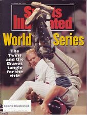 1991 Sports Illustrated Minnesota Twins World Series Subscription Issue Excellen