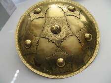 Very fine brass shield / bucklet from Aceh, North Sumatra, no keris