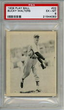 1939 Play Ball # 22 Bucky Walters Reds PSA 6