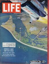 LIFE Sep 25 1964 Space Age, Clarence the Lion,  America's Space Revolution