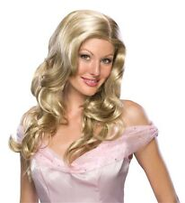 NEW Sleeping Beauty Hollywood Starlet ADULT LONG WAVY MIXED BLONDE CECILIA WIG