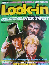 LOOK-IN MAGAZINE 1ST MARCH 1980 - ABBA - MATCHBOX - OLIVER TWIST