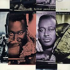 LUTHER VANDROSS & STEVIE WONDER I Know PROMO CD Single