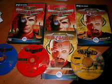 Command and Conquer Red Alert 2 Double Pack for PC with Yuri's revenge & manuals