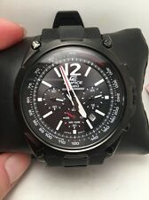 NEW Casio Men's EFR-545SBPB-1BVCF Edifice Chronograph Tough Solar Black Watch-R1