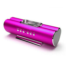 Aluminium Portable iPod iPhone Docking Speaker Charger Heart Valentine Gift VX P