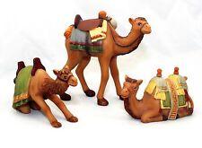 M I Hummel Miniature Camel Set of 3 NIB for Miniature Nativity Set 827407 NEW