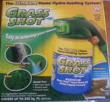 AS SEEN ON TV GRASS SHOT HYDRO-SEEDING SYSTEM