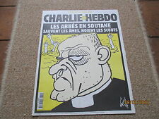 JOURNAL BD CHARLIE HEBDO 319 abbe cottard noient scouts gebe 1998