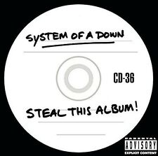 Steal This Album - System Of A Down (2002, CD NEUF) Explicit Version