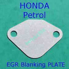EGR valve blanking plate Honda Accord Prelude Civic Jazz Shuttle Petrol engines