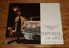 Original 1960 Chrysler Imperial Sales Brochure 60