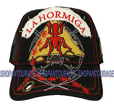 NEW Red Monkey LA HORMIGA Limited Edition Trucker Hat Black