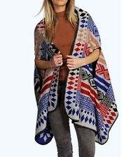 Ladies Blanket / Scarf Like Cape-Cardigan  Size 14-16-18 One Size FREE POST