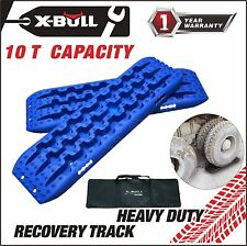 X-BULL Recovery Traction Off Road Tracks Sand Snow Track Tire Ladder 4WD Blue