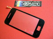Kit VETRO + TOUCH SCREEN per SAMSUNG GALAXY ACE GT S5830 DISPLAY LCD NERO COVER