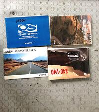 VOLVO V40 SW (1995-2000) 1.9 DIESEL 66KW 5P LIBRETTI MANUALE USO MANUTENZIONE