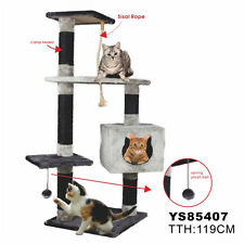 Cat Tree Tower Condo Furniture Scratch Post Kitty Pet House Play High Quality
