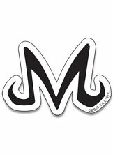 "Dragon Ball Z Majin ""M"" Logo Symbol Sticker DBZ Official Funimation Licensed"