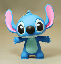 Blue Cute Stitch Figure Key Chain Pendant Cartoon Keychain Toy Gift Collection