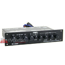 Wet Sounds WS-420BT 4-Band Marine Equalizer with Aux Input and Bluetooth Used
